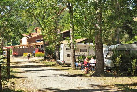 Photographie du camping de Pierrageai